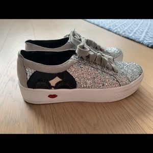 Alice and Olivia Glitter sneakers